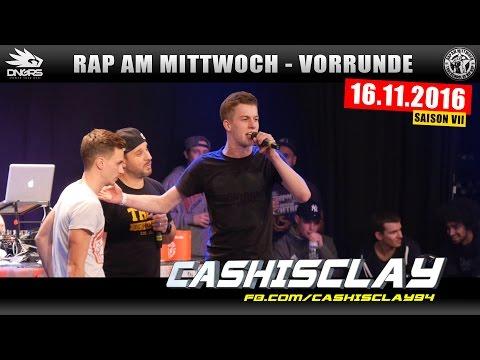 RAP AM MITTWOCH KÖLN: 16.11.16 BattleMania Vorrunde feat. CASHISCLAY uvm. (2/4)