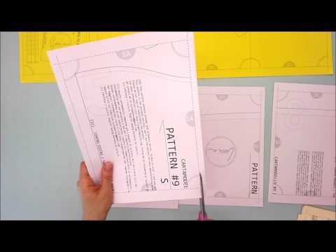 How to assemble quickly a PDF sewing pattern!
