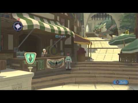 Let's Play Tales of Graces: F ::Childhood Arc:: [8] The Wind Capital, Barona