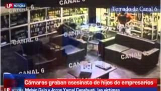 Video Así ultimaron a hijos de dos empresarios sampedranos