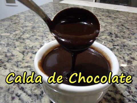 Como fazer Calda de Chocolate em menos de 5 minutos! #112 (por Fernando Couto)