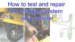 Download Video How to test and repair the charging system on a scooter MP3 3GP MP4