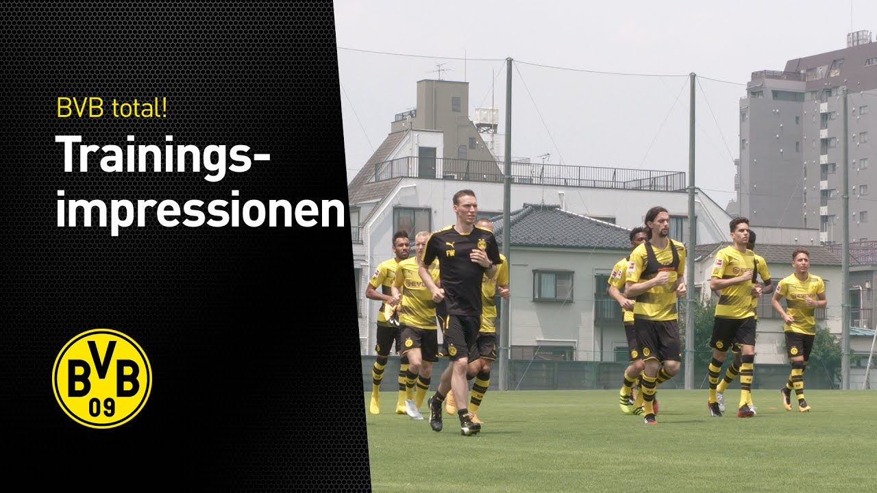 Trainingsimpressionen aus Tokio
