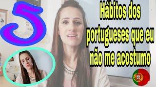 5 hábitos Portugueses que talvez vc não se adapte 🤔 | Vlog's Vanessa