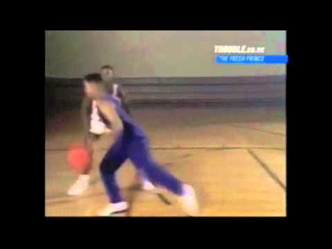 Will Smith plays basketball with Isiah Thomas - Funny (Fresh Prince of Bel-Air)