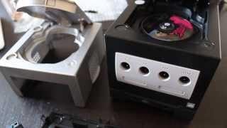 Ecran Intec NTSC sur Gamecube JAP : câble court + swap hardware