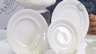 Белая посуда из фарфора Соната (Sonata) Императорский 0000 (Leander, Чехия)(, 2016-12-28T09:48:23.000Z)