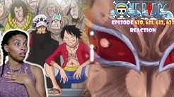 LAW JUST RUFFLED DOFLAMINGOS FEATHERS | ONE PIECE EPISODE 620, 621, 622, 623 REACTION