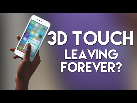 Apple, please don't kill 3D Touch...