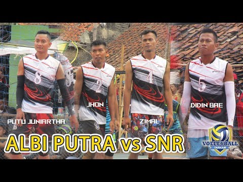 Putu Juniartha, Didin Bae, Zimal, Dicky AR, Jhon (ALBI PUTRA) vs Rian Sonod, Ridwan Pacok CS (SNR)