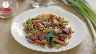 客家小炒|Hakka style stir fry|食譜|C2食光|4K [Eng Sub]