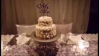 Surprise Winter Wonderland Wedding Reception | Mermaid Blanket Winners Announced