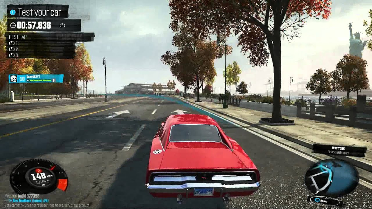 The Crew 1969 Dodge Charger Rt Hemi Gameplay Hd Youtube
