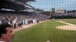 Khaki Pixley - National Anthem @ Wrigley Field - Chicago Cubs