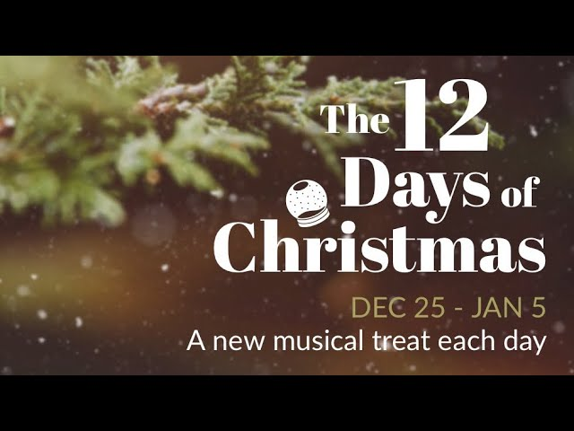 Day 12 of #12 Days - Sure on this Shining Night (Lauridsen)