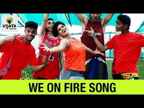 Zumba Workout On Mohombi  – We on Fire | Zumba Fitness Video | Choreographed By Vijaya Tupurani