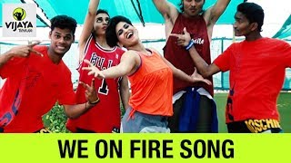 Zumba Workout On Mohombi  - We on Fire | Zumba Fitness Video | Choreographed By Vijaya Tupurani