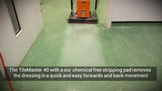 How to clean and strip marmoleum chemical free