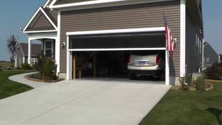 Motorized Garage Screen