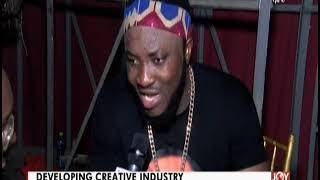 AM Showbiz on Joy News (19-2-20)