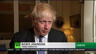 EU rejects Boris Johnson's letter demanding removal of Irish backstop