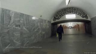 Переход Краснопресненская - Баррикадная 19.02.2017