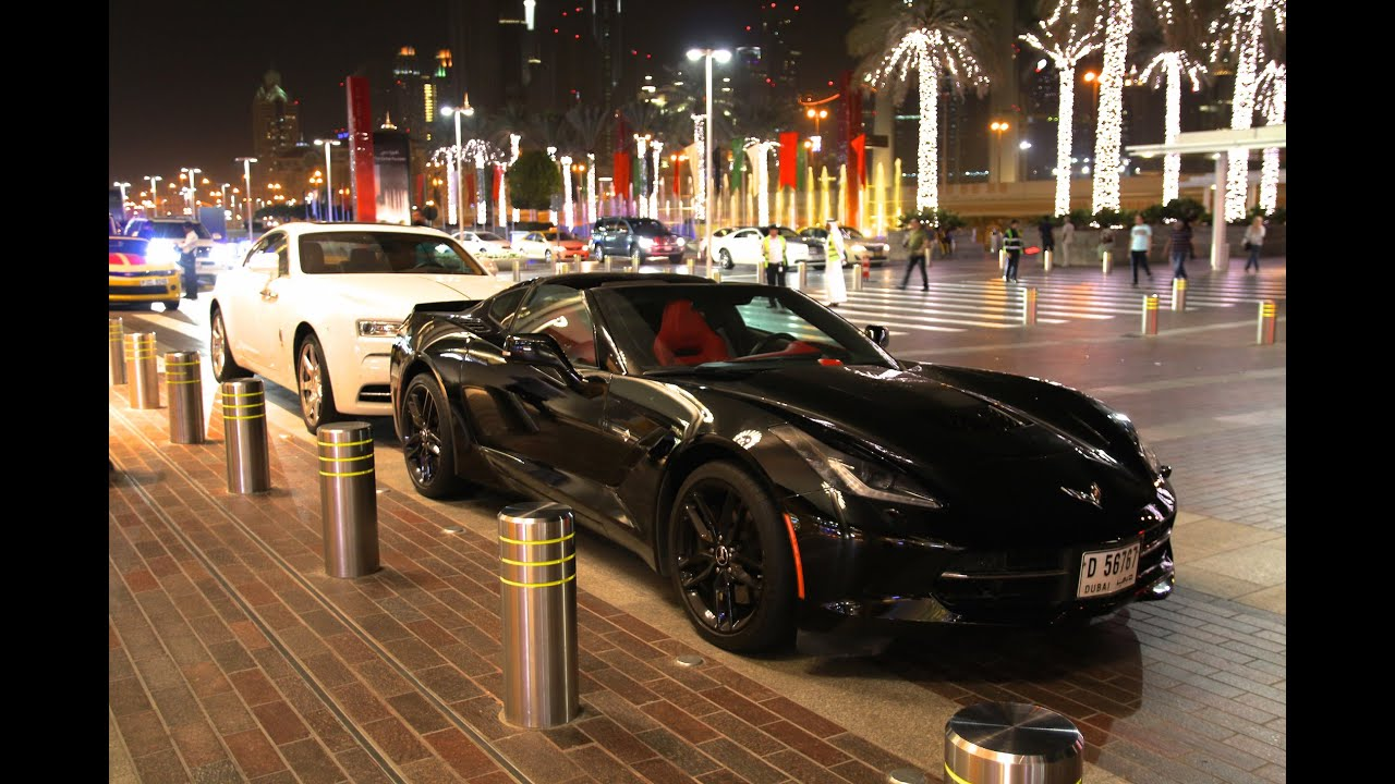 Supercars At Dubai Mall Speciale Youtube