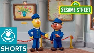 Sesame Street: Museum Guards | Bert and Ernie's Great Adventures