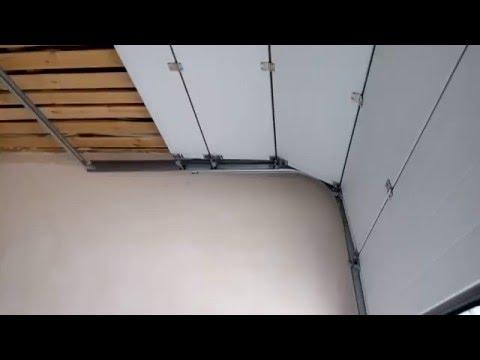видео: Секционные гаражные ворота