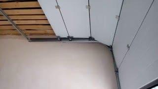 видео Секционные, гаражные и промышленные ворота. Купить ворота в СПб – ПроёмДизайн