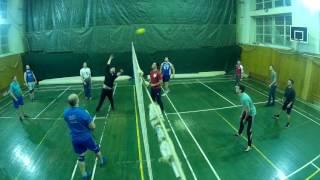 волейбол 4 03  игра первая разминочная