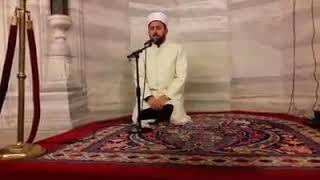 Fatih Camii imam hatibi Bunyamin Topcuoglu hocamdan amenerresulu 14 1 18 pazar