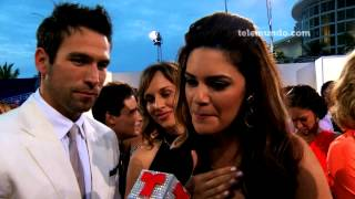 Premios Tu Mundo 2013 / Rafael Amaya y Angélica Celaya/ Telemundo