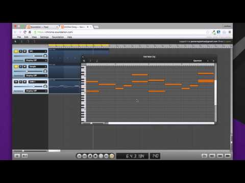 Making Music in Your Browser - Soundation Studio