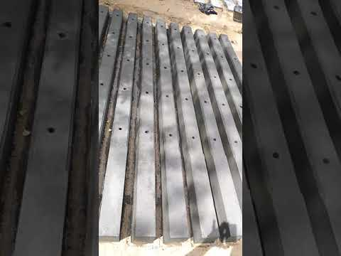 Concrete Pole Column MANUFACTURE in Chennai RCC PreCast Compound Walls in Bangalore Airport ROAD WAL