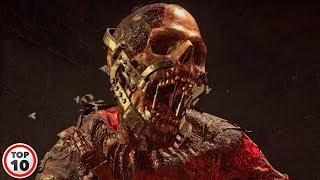 Top 10 Scary Zombie Video Games You Shouldn't Play Alone