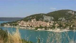 Vacances dans les alpes de haute provence, lac de St croix