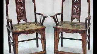 Pair Of Antique Chinese Official's Chairs_rb1036x.wmv