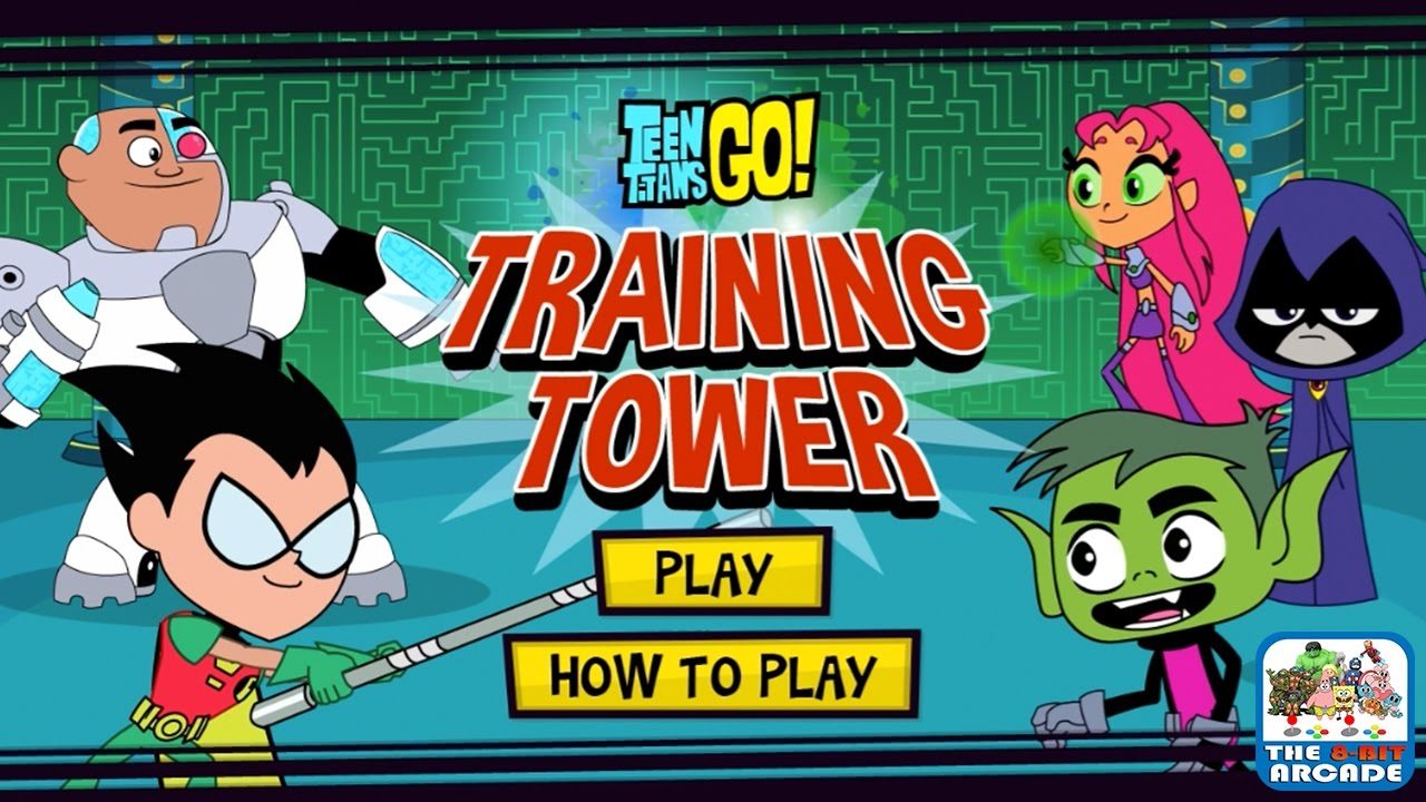 Teen Titans Go! Training Tower – I Wanna Be The Very Best (Cartoon Network Games)