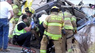 vehicle accident heavy extrication Hugo, Oregon