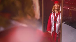 Wearing the Red Robes — NC State Graduation 2018 — Meredith Biechele