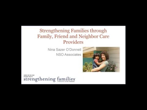 December 2015 Strengthening Families Networking Webinar