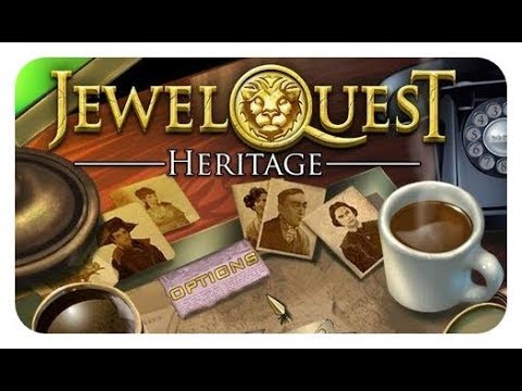 Jewel Quest Heritage Video Game - Level 16 (Mission: Francoise Dubuque)