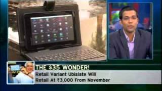 CNBC-TV18: INDIA BUSINESS HOUR_ APPLE & AAKASH