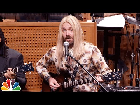 Jimmy Welcomes Guest Musician Gregg Almond Will Forte