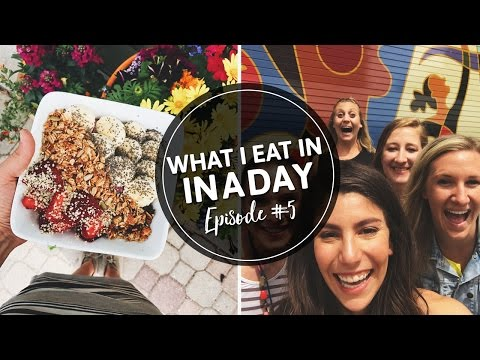 5. WHAT I EAT IN A DAY | Healthy Meals at a Work Conference!