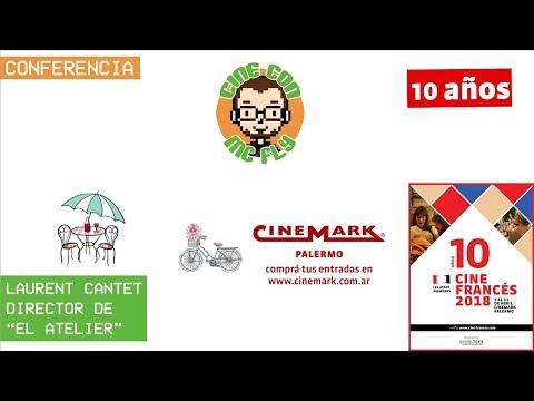 "Conferencia Laurent Cantet - Director de ""El atelier"" - Cine Frances 2018"