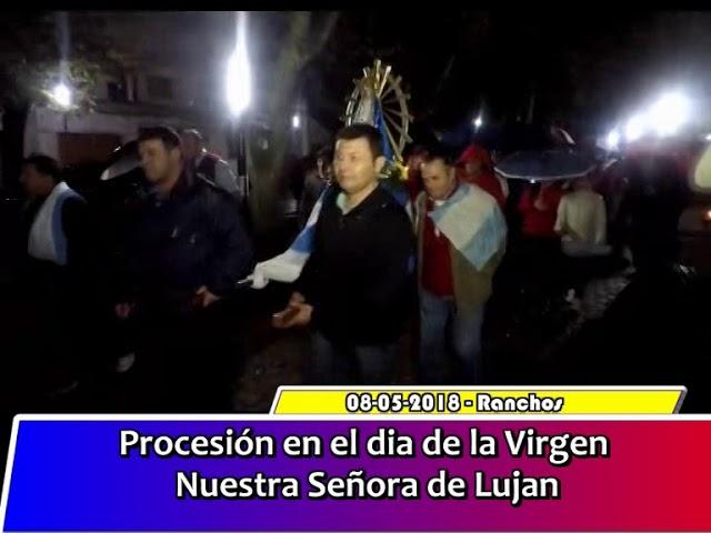 procesion dia de la Virgen de Lujan
