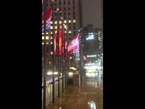 Wind in new york (Manhattan)