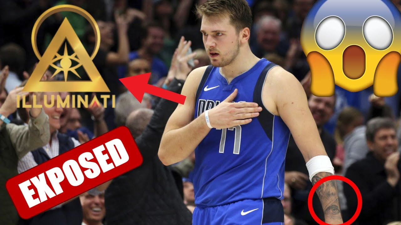 Luka Doncic Sold His Soul For Fame And Money He Has A New Illuminati Tattoo On His Arm Youtube
